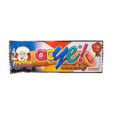 açye molla Weizengebäck mit Minisalami