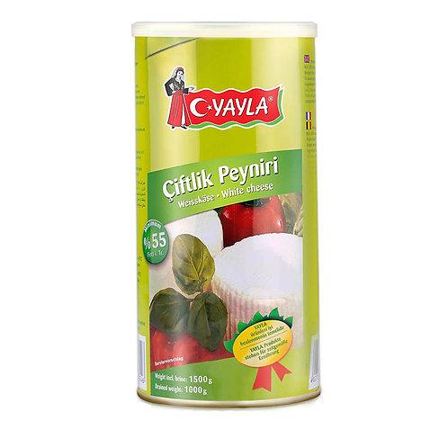 Yayla Weißkäse 55% Fett 1 kg
