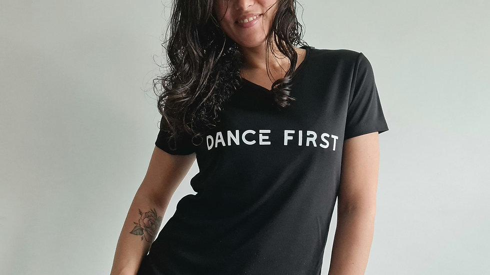 Sportshirt DanceFirst Ladies v-hals