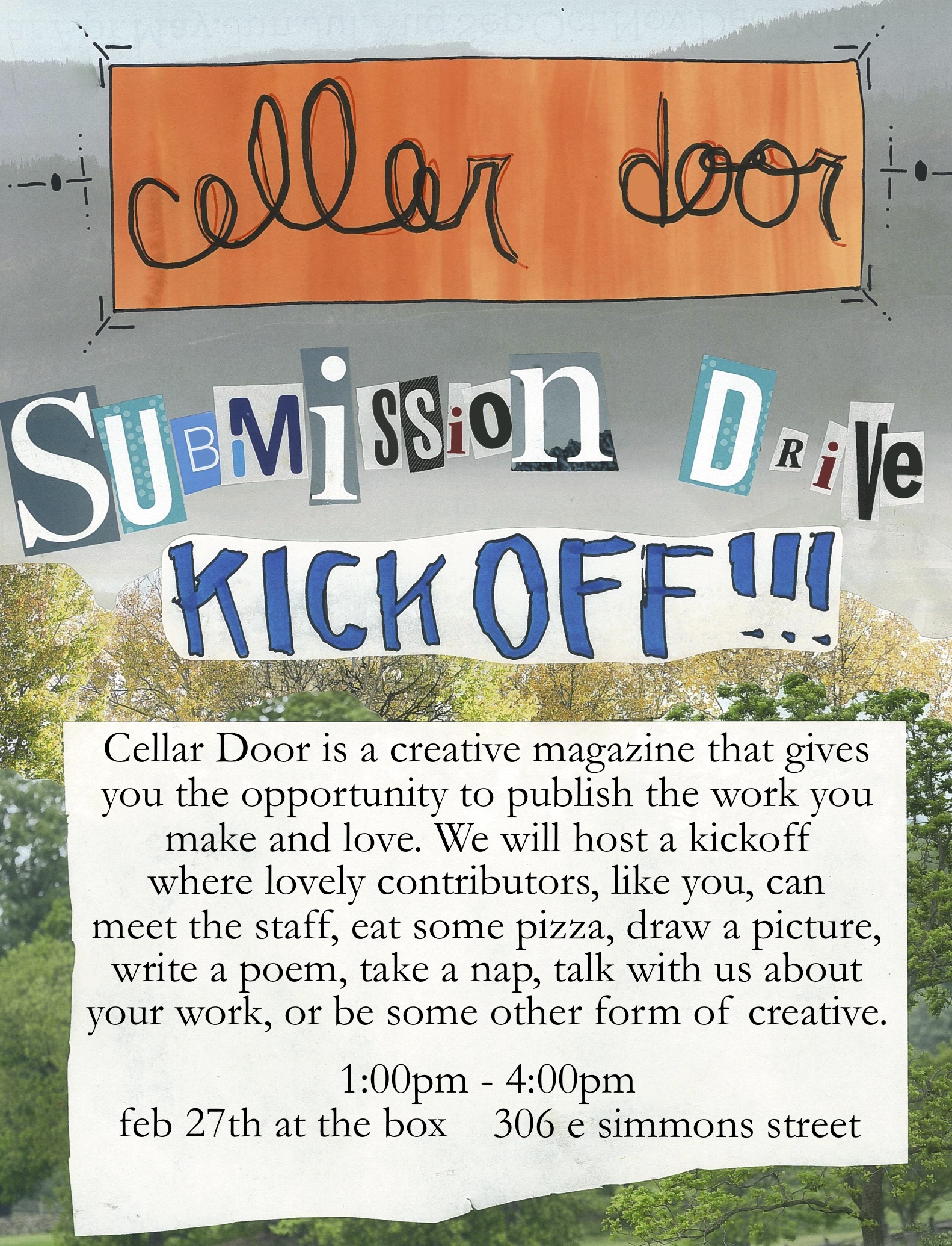 Cellar Door Promotional Poster