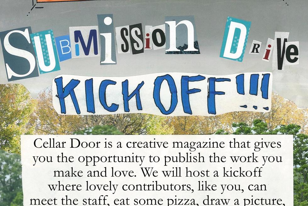 Cellar Door Event Poster