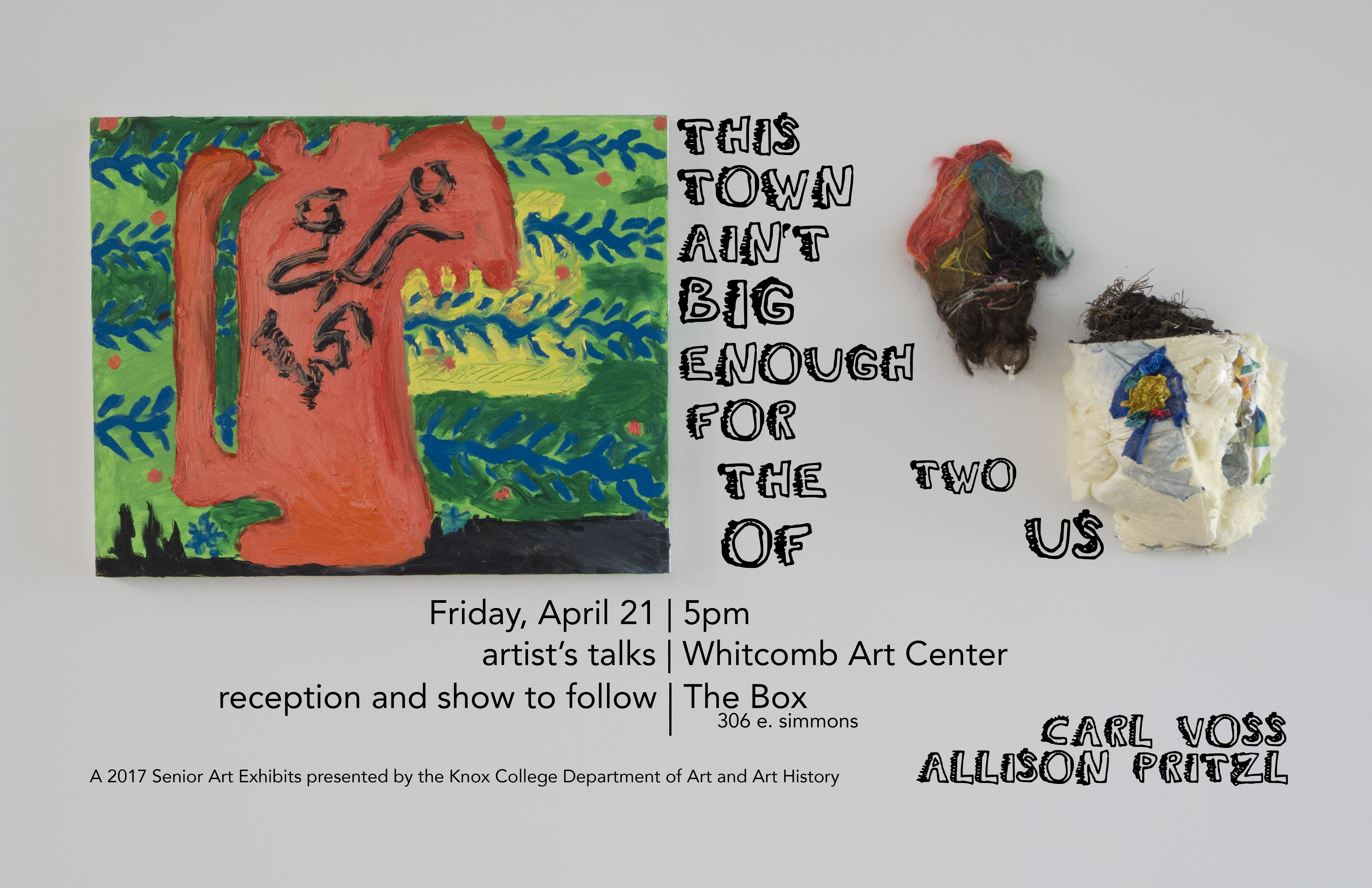 Art Show Promotional Poster