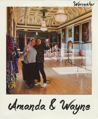 Amanda & Wayne