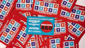 Preloved Kilo Loyalty cards!