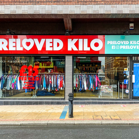 Our new Sheffield kilo shop - First look!
