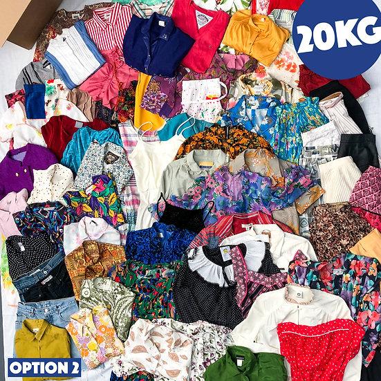 vintage clothing wholesale, dress, skirt, blouse, denim, 80s, 70s, 60s, 90s