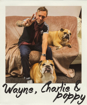 Wayne, Charlie & Poppy
