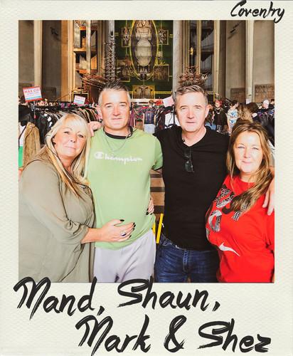 Amanda, Shaun, Mark & Sherrel