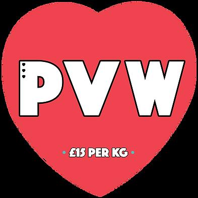 Preloved Vintage Wholesale heart shaped logo.