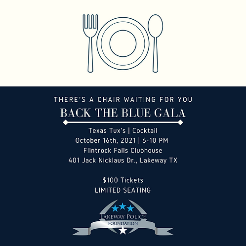 Individual Gala Ticket