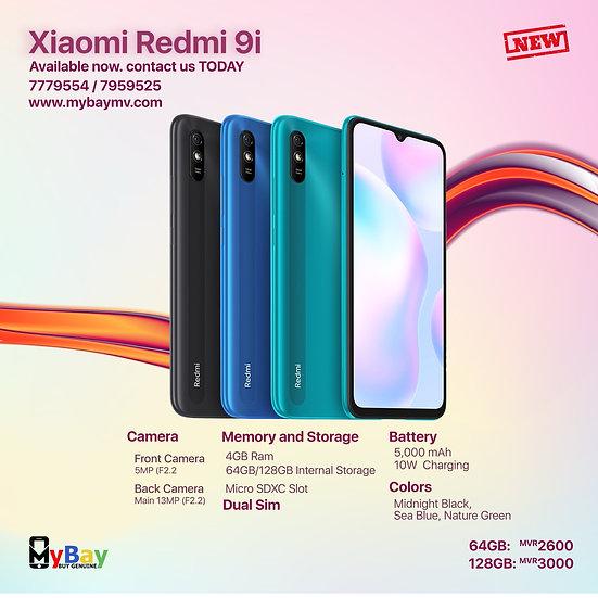 Xiaomi Redmi 9i 64GB & 128GB