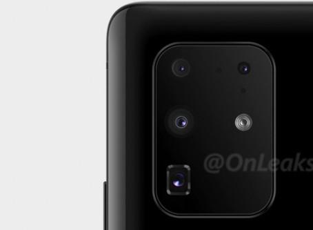 New Samsung Galaxy S11+ image shows actual camera setup