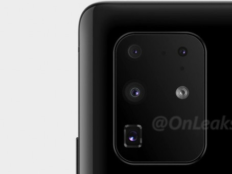 New Samsung Galaxy S11+ image shows actual camera setup