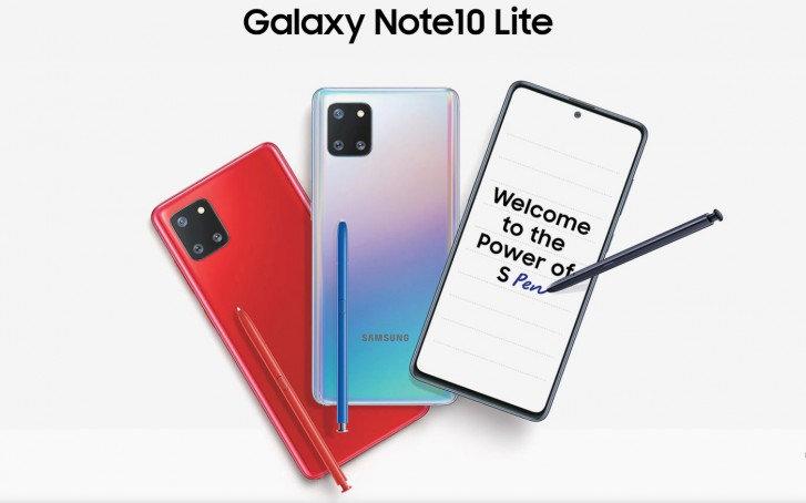 Samsung Galaxy Note 10 Lite 8GB 128GB