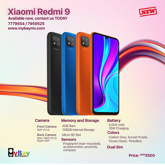 Xiaomi Redmi 9 128GB