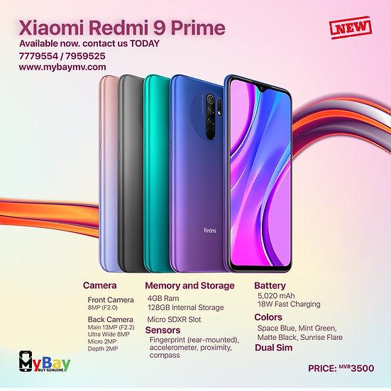 Xiaomi Redmi 9 Prime 128GB