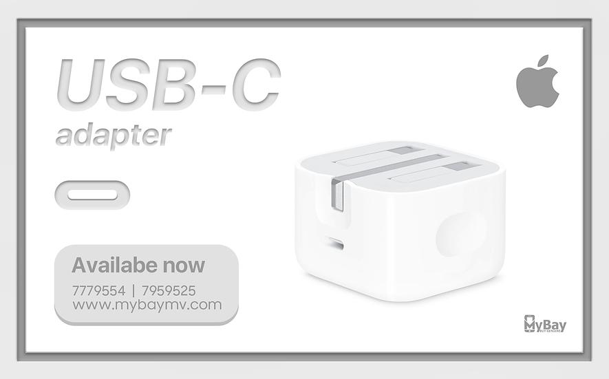 Original Apple 20W USB-C Power Adapter