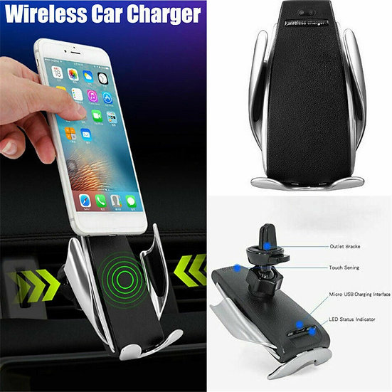 Wireless Car Charger Smart Sensor ( 15W )