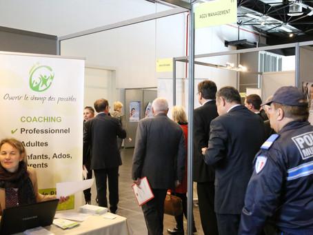 Souvenir de notre présence au Forum de l'emploi et de la formation 2016