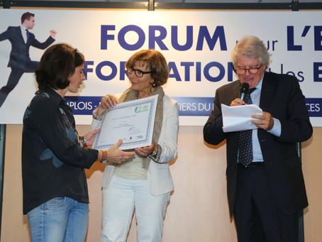 Finaliste Agenda 21 au Forum de l'emploi Mandelieu 2014