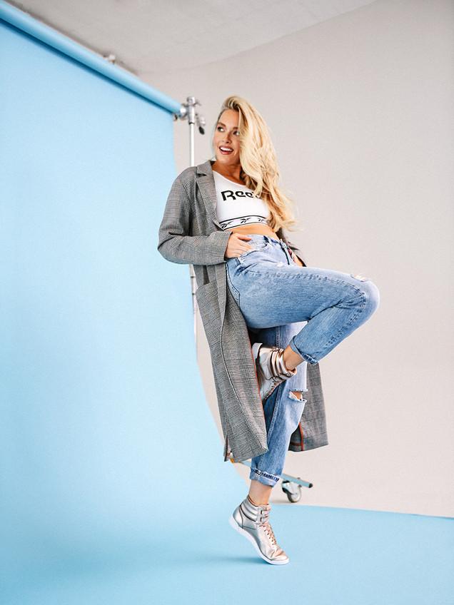 PARLR Brand Studio Reebok Camille Kostek