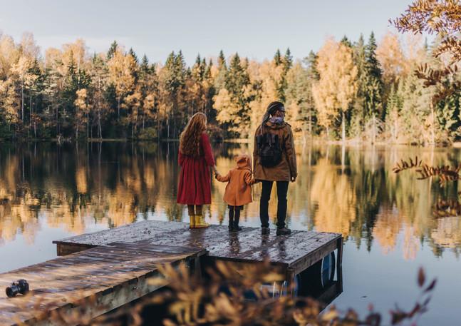 Озеро Банное прекрасно в любое время года
