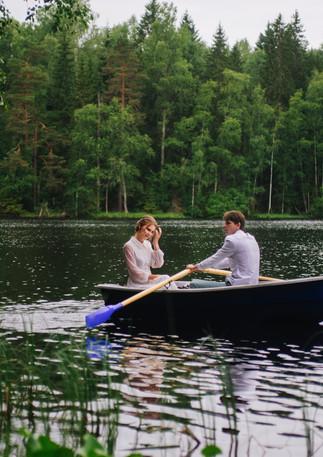 Озеро Банное. Прокат лодок