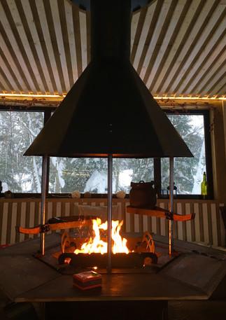 Гриль-домик для пикника
