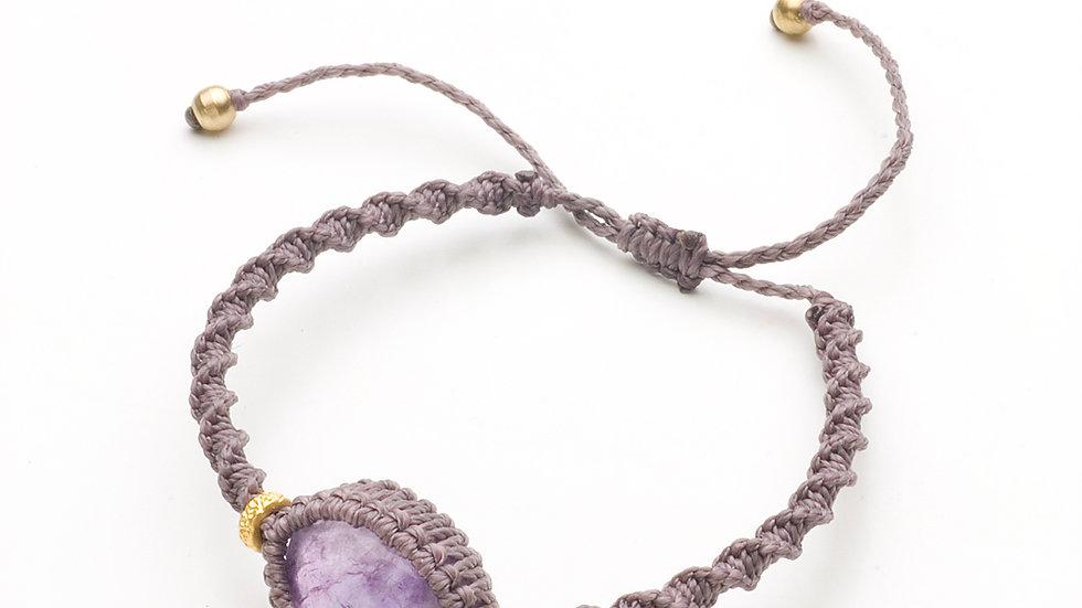 アメジスト(紫水晶のブレスレット)