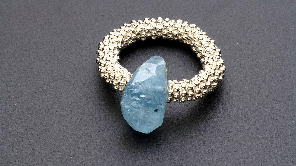 アクアマリンの指輪(D)