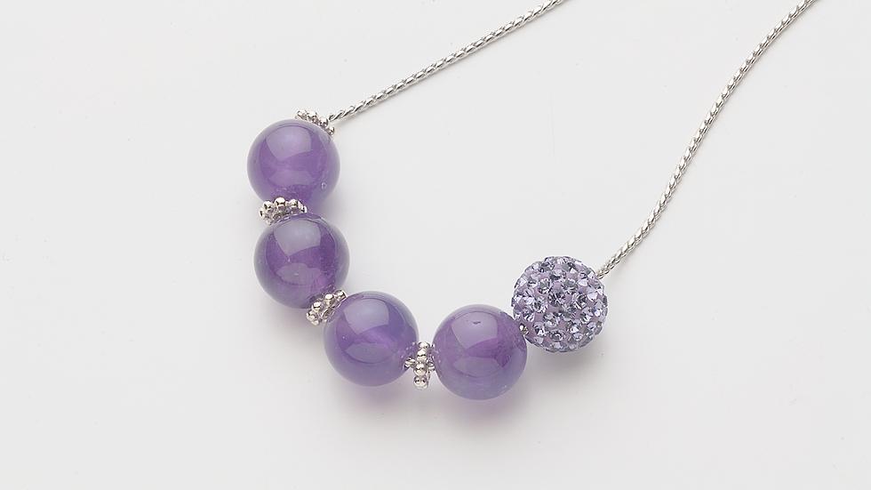 アメジスト(紫水晶)のネックレス