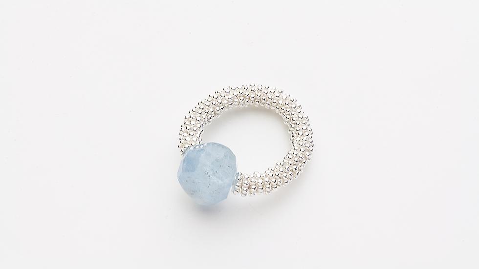 アクアマリンの指輪(A)