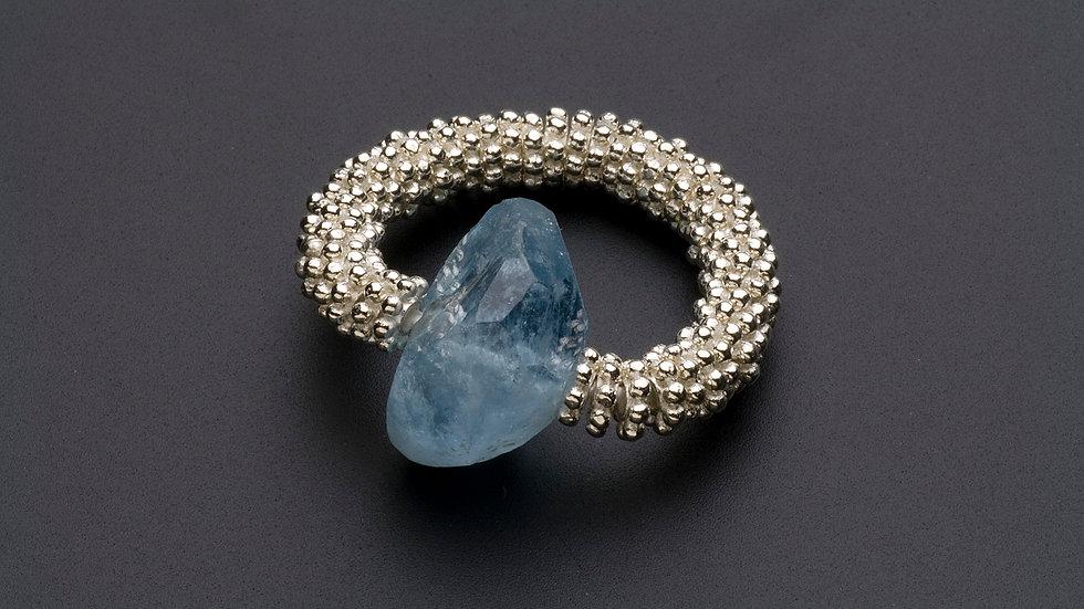 アクアマリンの指輪(E)