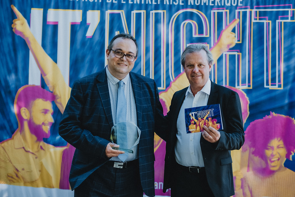 Ramy ISKANDER - Founder & CEO et Eric LAURENT - VP International Sales d'INTENTO DESIGN