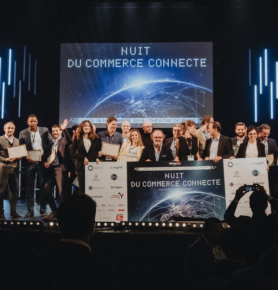Trophées awards commerce connecté
