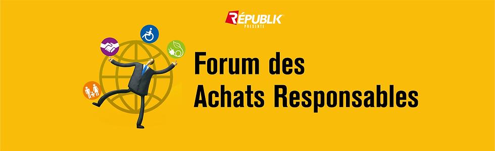 Forum des Achats Responsables