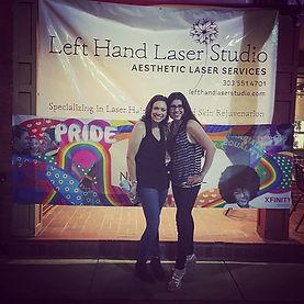 Left Hand Laser Studio Banner
