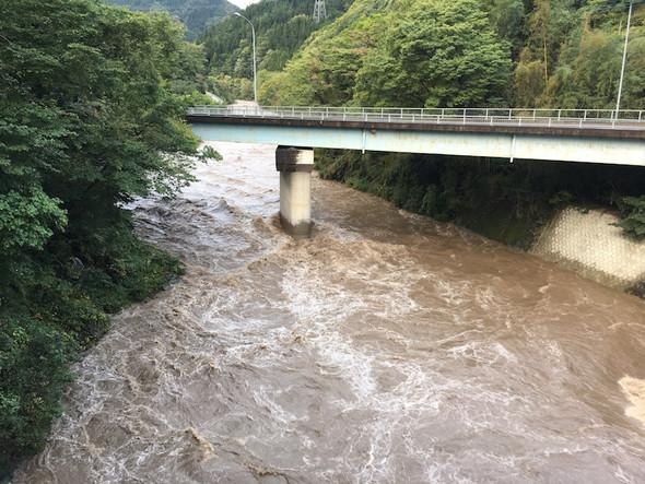 神流川増水