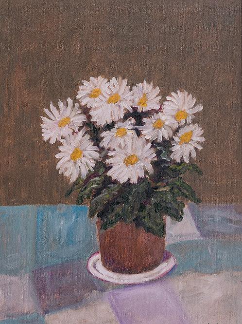 Julianna festmény - Margaréta