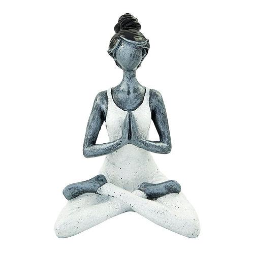 Cape Coral jógázó női szobor