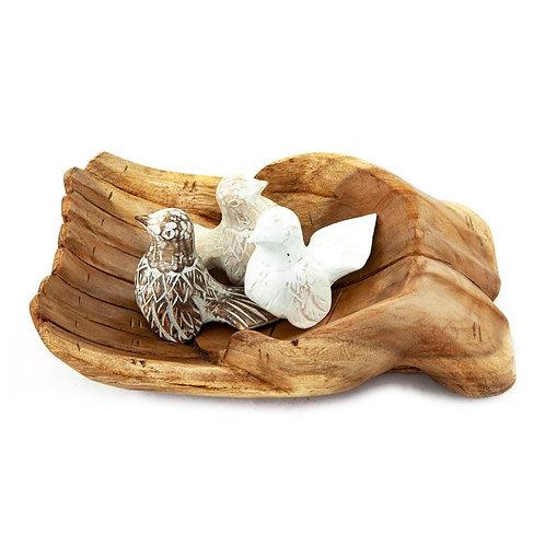 Peoria teakfa kéz tál