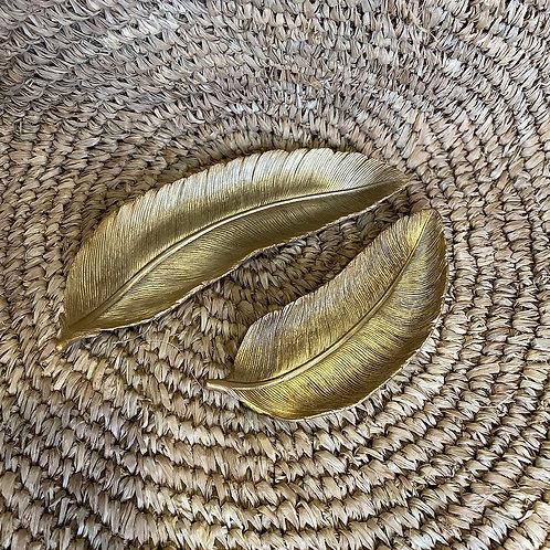 Honolulu madártoll mintázatú tál
