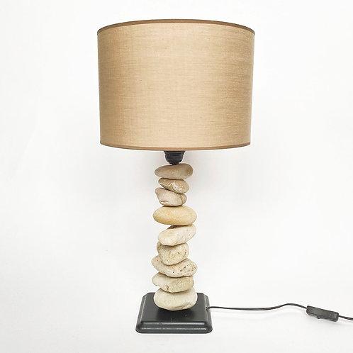 Detroit köves asztali lámpa