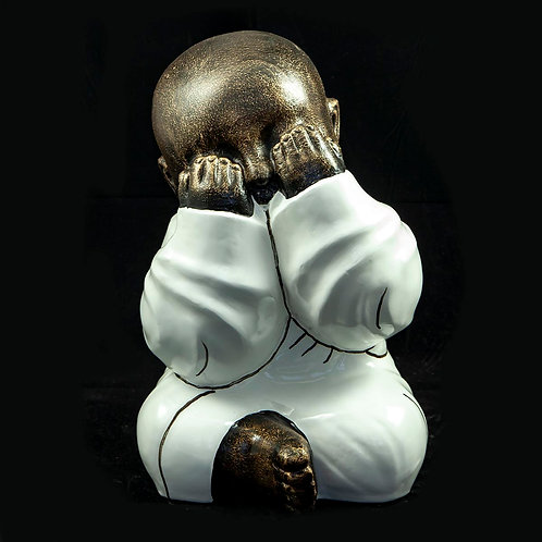 "Peoria Buddha ""nem lát"""