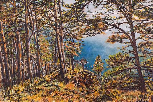 Julianna festmény - Ragyogó ősz