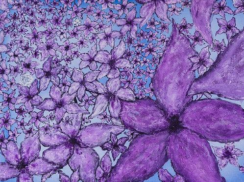 Julianna festmény - Virágözön