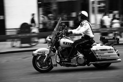 NYC, NYPD, motocycle cop