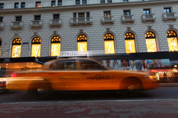 NYC, yellow taxi