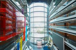 interior, colour, glass