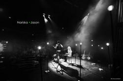 Event, black&white photo